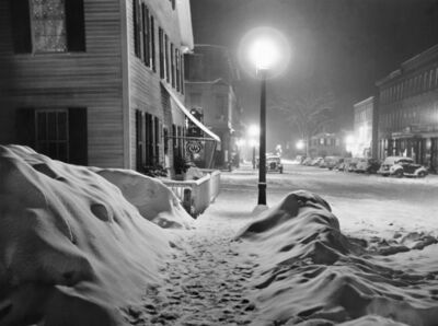 Marion Post Wolcott, 'After a Blizzard, Woodstock, VT', 1940