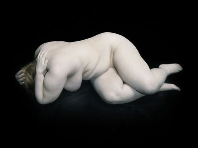 Nadav Kander, 'Elizabeth with hand on shoulders', 2010