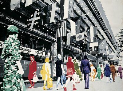 Gérard Fromanger, 'Au Printemps ou la Vie à l'Endroit, 1972', 1972