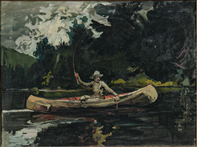 Arthur Clifton Goodwin, 'North Woods (After Winslow Homer)'