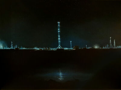 Eric Wright, 'Morrow County Oil by Night (Bucolic)', 2020
