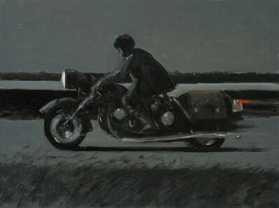 Julio Larraz, 'Knight Rider', ©2019
