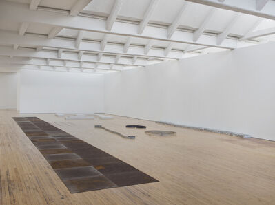 Carl Andre, 'Installation view Sculpture as Place, 1958-2010 (Installation view)', 1958-2010