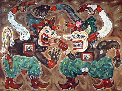Heri Dono, 'Two Guards who Protect their Leaders', 2013