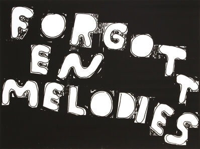 Stefan Marx, 'Forgotten Melodies', 2020