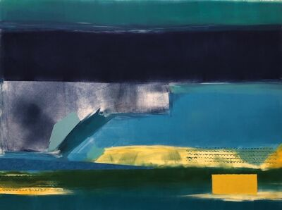 Gail Flanery, 'Blue Green', 2021
