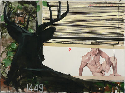 Jack Balas, 'And to All a Good Night (Wednesday) (Deer) (#1449)', 2017
