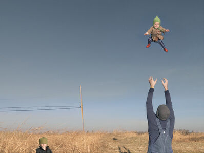 Julie Blackmon, 'Baby Toss', 2009