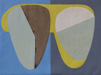 Wolfgang Paalen, 'Deux Tetes II', 1935