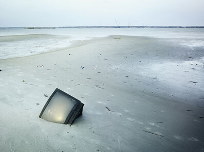 Stephen Wilkes, 'TV in Sand, Bay St. Louis, Mississippi (Hurricane Katrina), 2006'