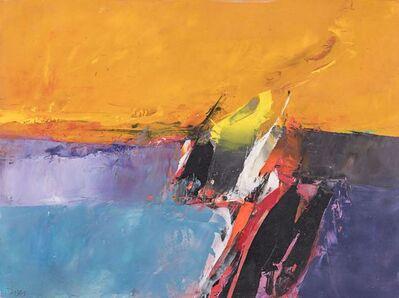Donald Hamilton Fraser, 'Yellow Landscape', 1971