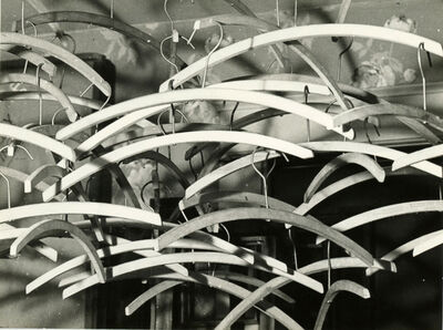 Man Ray, 'Obstruction (Coat Hangers)', 1948