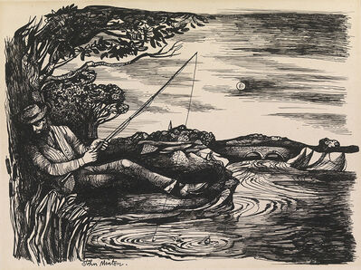 John Minton, 'Fisherman', Unknown