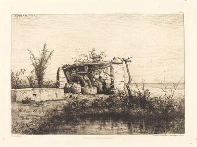 Adolphe Appian, 'Une moria a Bordiquier (Italie)', 1873