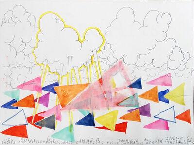 Klaas Vanhee, 'Untitled (Der Pussy Ist Immer Farbiger Auf Den Anderen Seite)', 2018