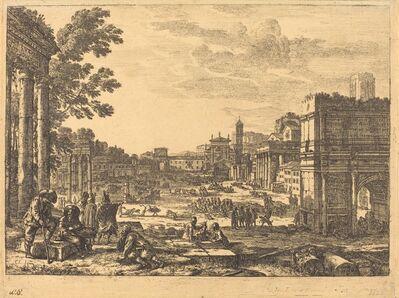 Claude Lorrain, 'The Roman Forum (Le Campo Vaccino)', 1636