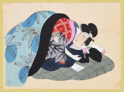 Unknown, 'Sensual Embrace', second half of XIX century