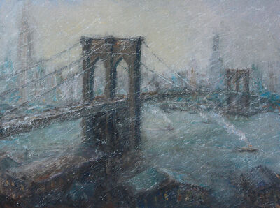 Mark Daly, 'The Great Bridge in Winter', 2016