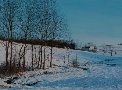 Jeff Gola, 'Pond Run, January', 2016