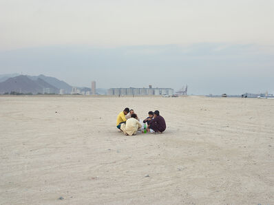 Philip Cheung, 'Men eating, Fujairah (UAE)', 2014
