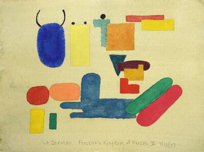 L.B. Berman, 'Peaceable Kingdom of Pieces II', 2017