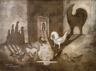 "Leonora Carrington, '""Domingo"" (Sunday)', 1978"