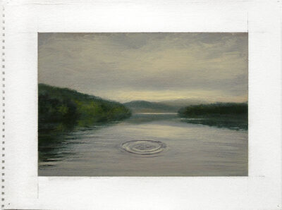 Adam Straus, 'Catskills: Noah Throws a Stone in the Pepacton Reservoir', 2009