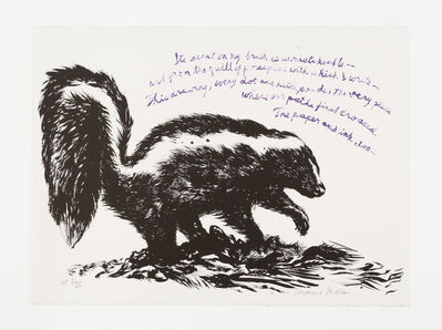 Raymond Pettibon, 'No Title (Its scent on...)', 2005