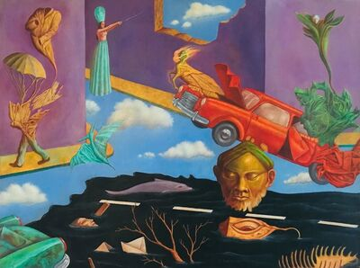 Rafael Trelles, 'La ciudad derrotada', 1998