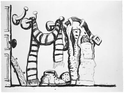 Philip Guston, 'Studio Corner', 1981