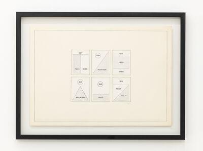Imre Bak, 'Landscape Concept', 1977