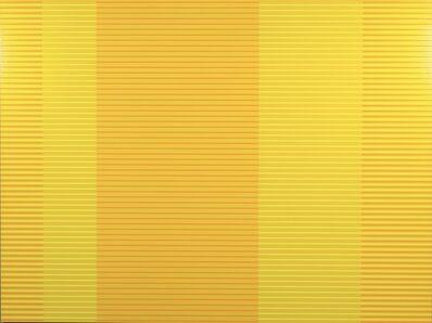 Matthew Kluber, 'Split Infinitives (hansa yellow, orange, chartreuse – version 2)', 2021