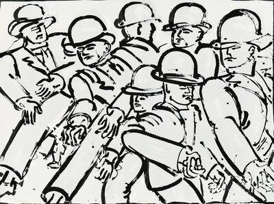 Lester Johnson, 'Two Prints: Spring Street', 1972