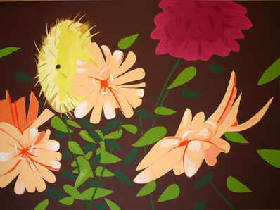 Alex Katz, 'Summer Flowers', 2013