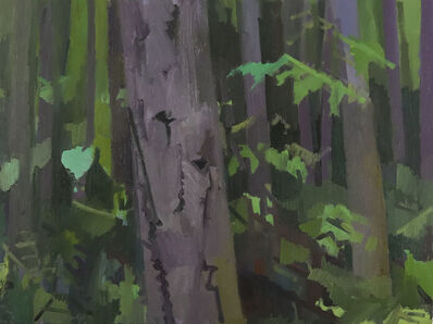 Kimberly Trowbridge, 'Doug Fir Forest, Purple', 2019