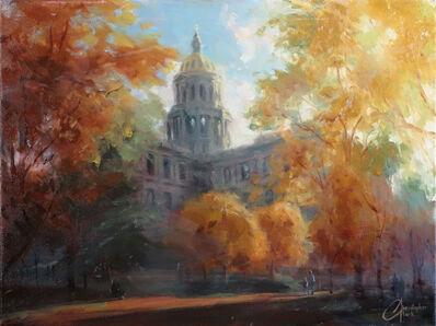 Christopher Clark, 'Denver Capitol Building in Autumn', 2015