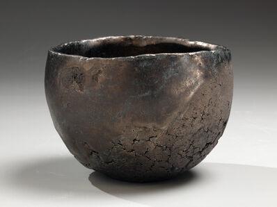 Machiko Ogawa, 'Hakkinsai wan: Teabowl with Platinum Glaze', 2009