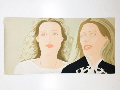 Alex Katz, 'Alex Katz 'Julia & Alexandra', Screenprint, 1983', 1983