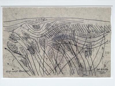 Josef Scharl, 'Wind-Swept Wheatfield', 1949