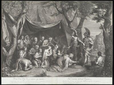 Charles Le Brun, 'Tent of Darius', 1675