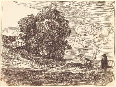 Jean-Baptiste-Camille Corot, 'Poet's Dwelling (La Demeure du poete)', 1871