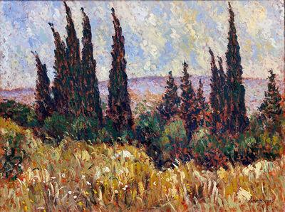 Samir Sammoun, 'Cypresses II', 2005