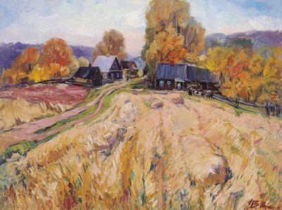 Vladimir Klimentevich Zhuk, 'Autumn is coming', 1976