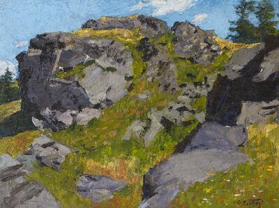 Edward Henry Potthast, 'Rocky Pasture', ca. 1900