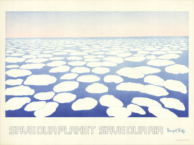 Georgia O'Keeffe, 'Save our Planet Save our Air', 1971