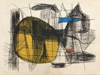 Maltby Sykes, 'Maine Coast, Yellow Sun'