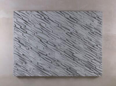 Ara Peterson, 'Panel (Silver, Gray)', 2011