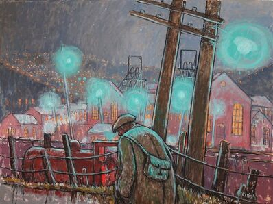 Norman Cornish, 'Pit head lights'