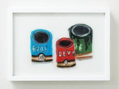 Rose Eken, 'Devoe Paint Cans', 2016