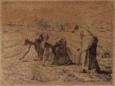 Jean-François Millet, 'Les glaneuses', 1855-56